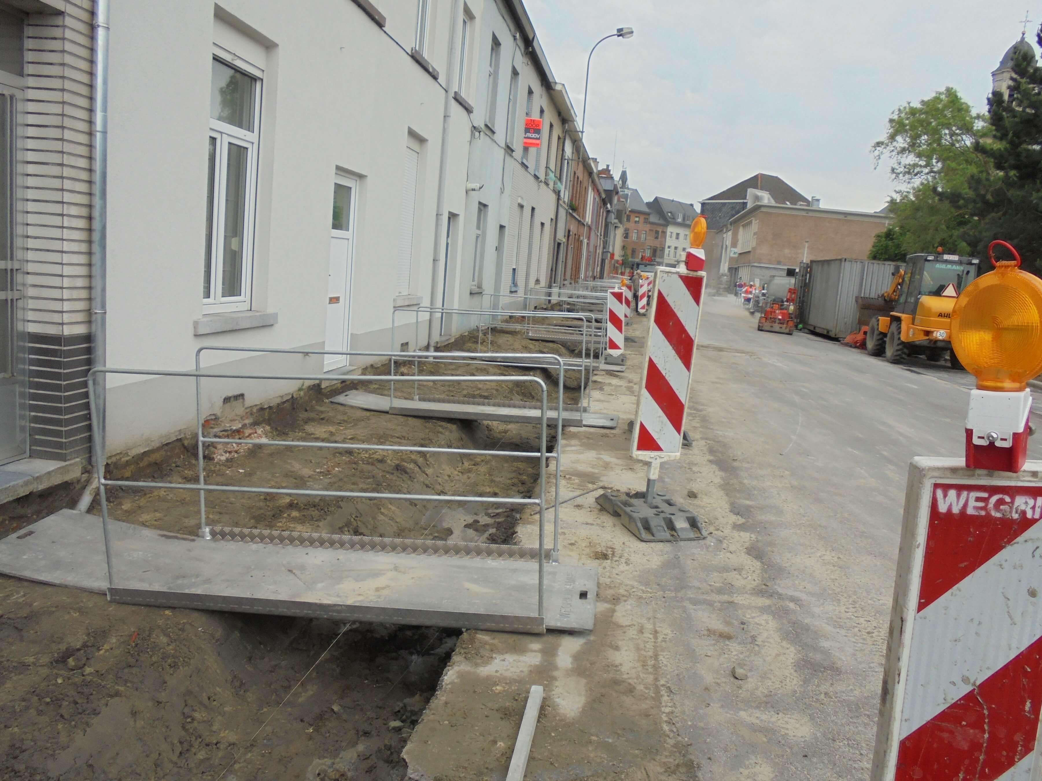 straat vernieuwen Wegrio